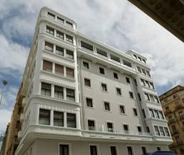 Restauración fachadas y cubiertas Gran Vía 7 Donostia
