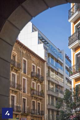 aislamiento fachadas Juan de Garay 3 (San Sebastian)